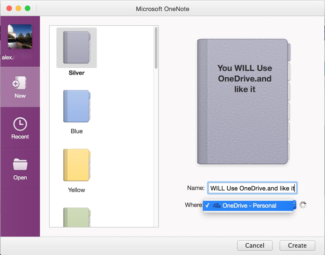 onenote for mac review 2015