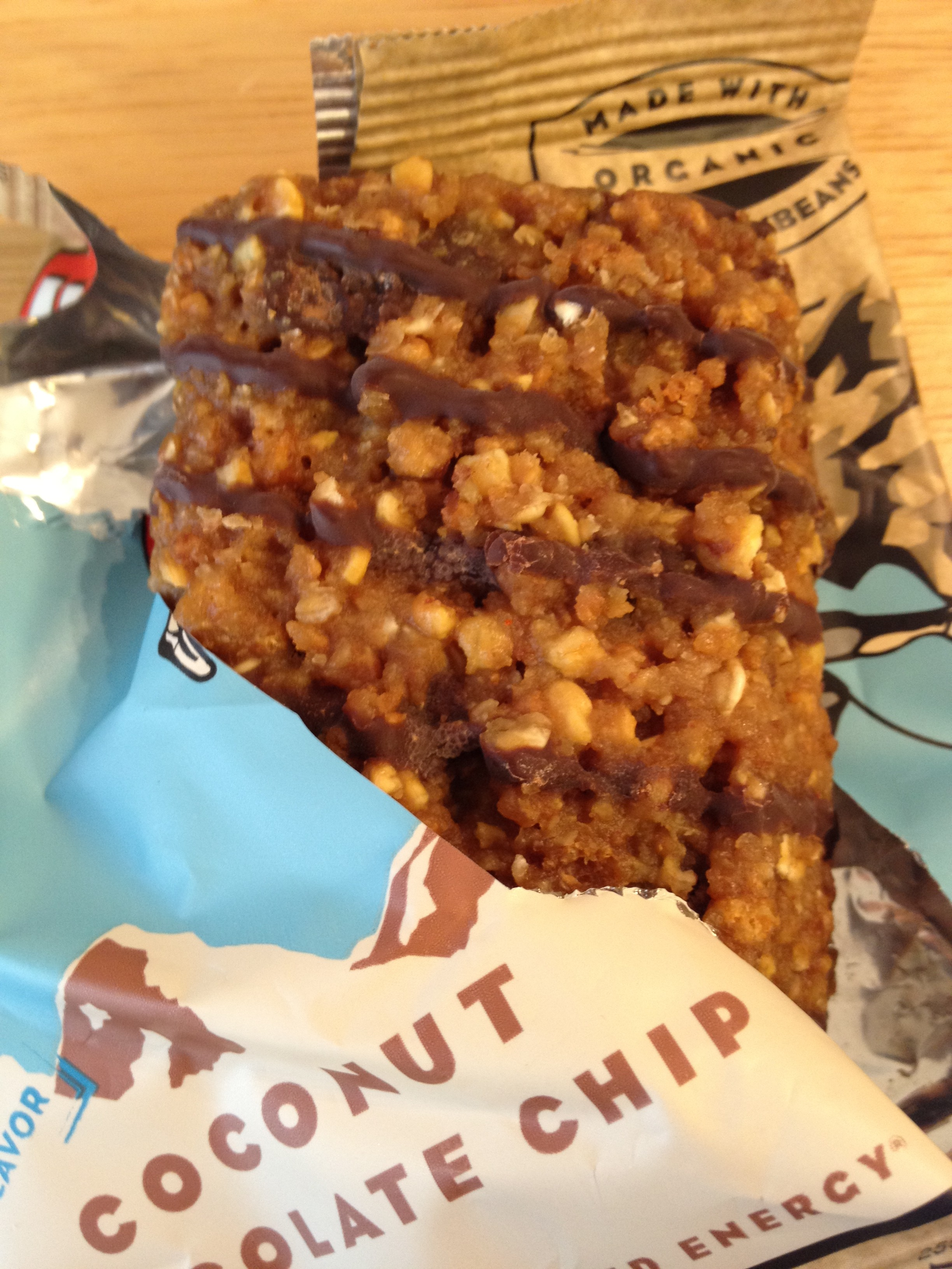 ec4bf88bb Clif Bar Review  Coconut Chocolate Chip